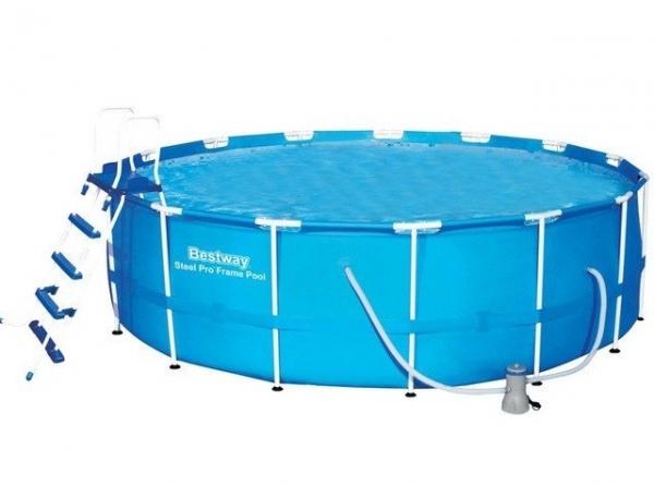 56418 BW Каркасный бассейн 366х100 см, 9150л, фильтр-насос 2006л/ч, лестница