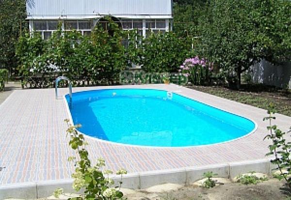 Бассейн стальной морозостойкий Лагуна 4,0 х 2,0 х 1,25 м.