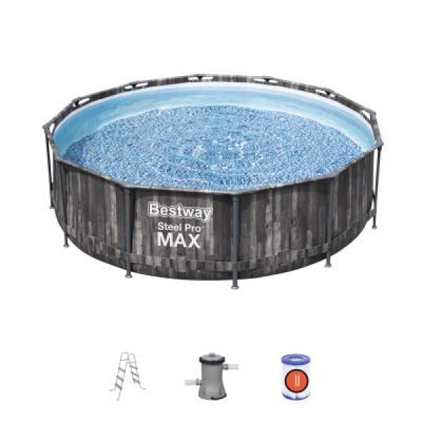 5614X BW Каркасный бассейн Steel Pro Max 366х100см, фил.-насос 2006л/ч