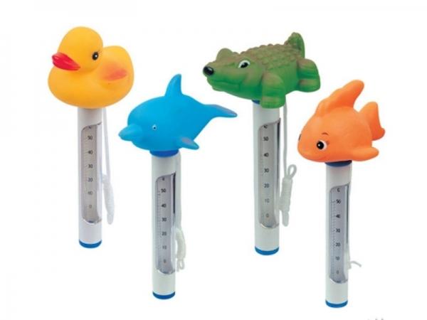 """58110 BW Термометр """"Зверята"""" для измерения температуры воды в бассейне и ванной"""