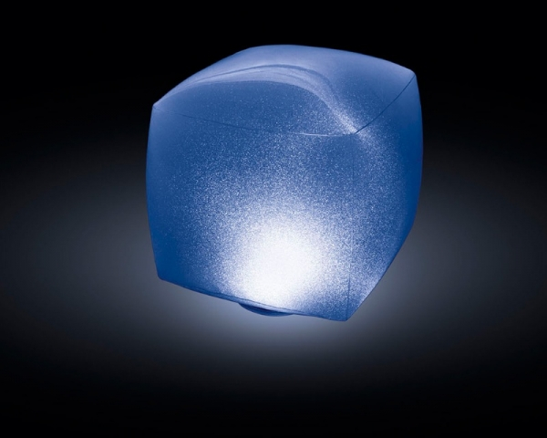 28694 Плавающая подсветка Куб, 23х23х22см