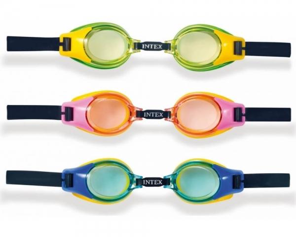 """55601 Очки для плавания """"Junior"""" от 3 до 8 лет, 3 цвета"""