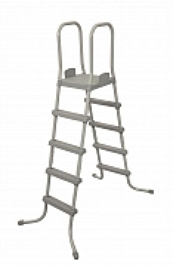 58337 BW Лестница 132см с площадкой BestWay