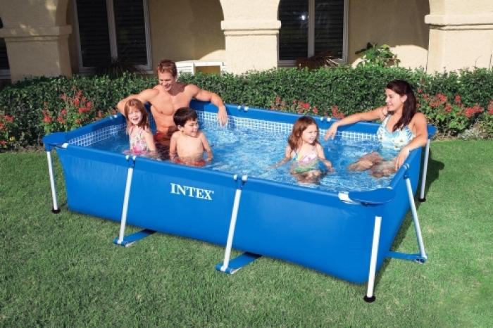 Прямоугольный каркасный бассейн, 260х160х65см, 28271 Intex (INTEX)