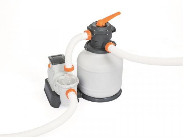 58499 Насос-фильтр песочный для бассейнов 7751л/ч