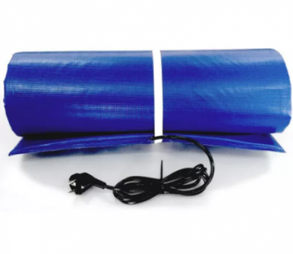 Тм200 Электроподогреватель для воды в бассейне до 6000л, 1.3 кВт, 200х53см