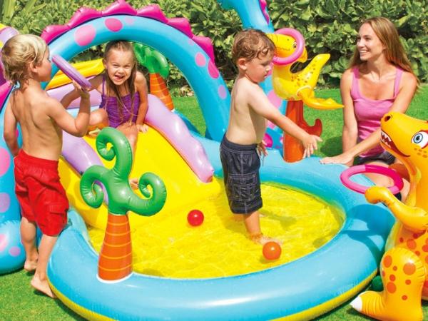 57135 Надувной водный игровой центр Intex Dinoland Play Center
