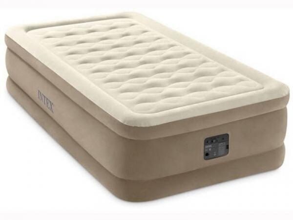 64426 Надувная кровать Intex 99х191х46 со встроенным эл. насосом