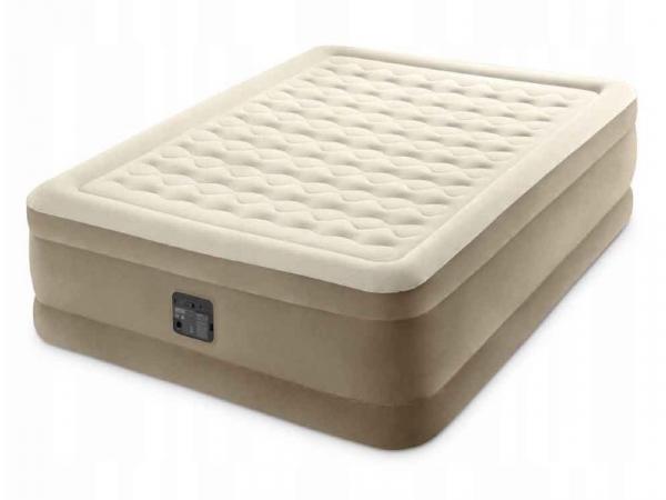 64428 Надувная кровать со встроенным эл.насосом 152х203х46см