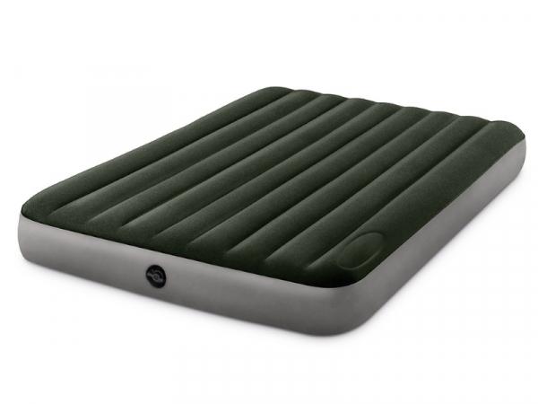 64763/66929 Надувной матрас Downy Bed, 152х203х25см, со встроенным ножным насосом
