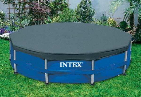 28031-58411 Тент-крышка 366см Intex для каркасного бассейна