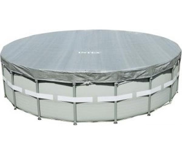 28040 Тент для каркасного бассейна Ultra Frame 488см (D488х20см)