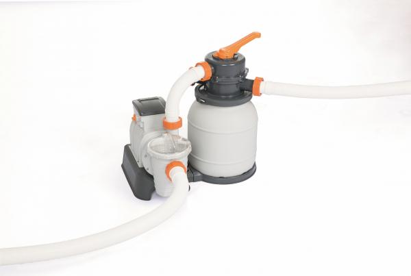 58497 Песочный фильтр-насос 5678 л/ч , резервуар для песка 9 кг