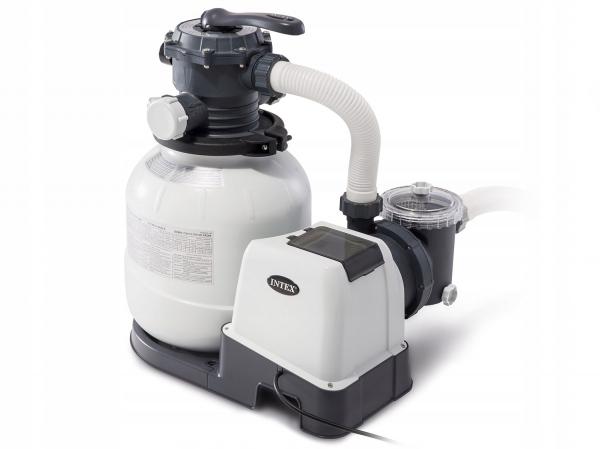 26652 Песочный фильтр-насос для басс. от 40м3, 9м3/ч 220 вольт. Intex