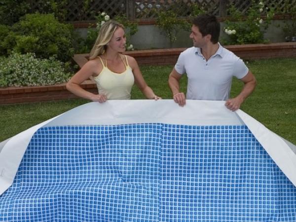 10989 Чаша для каркасного бассейна Ultra-Frame Metal Pool 549х132 см