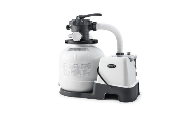 26676 Песочный фильтр с хлорогенератором на 6 м3/ч INTEX
