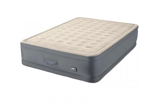 64926 Надувная кровать Premaire II Elevated Airbed 152х203х46см, встроенный насос 220V