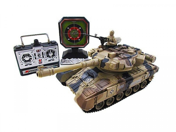 YH4101D-5 Радиоуправляемый танковый бой с мишенью Household Russia T-90