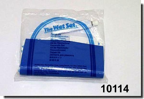 10114 Ремкомплект для басс. 5 заплаток синие 150х75мм с клеем