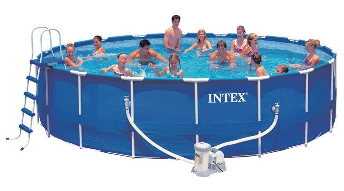 Сборный (каркасный) бассейн 549x122 см, 28252, полный комплект, (INTEX)