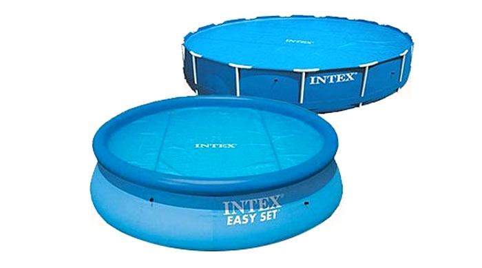 Обогревающий тент-покрывало 366 Intex 29022 (59953) для бассейна